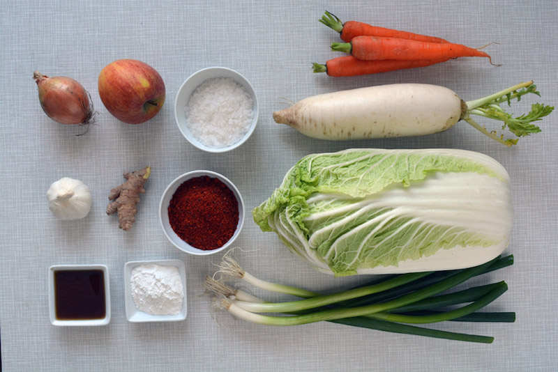 ingredienti kimchi