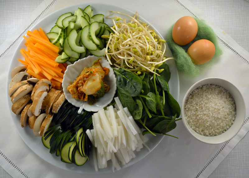 bibimbap ingredienti