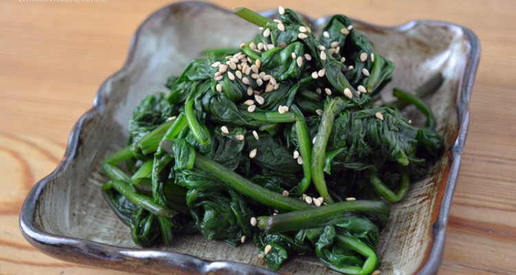 contorno spinaci