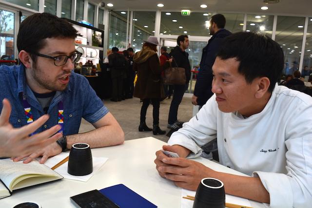 intervista chef padiglione corean expo