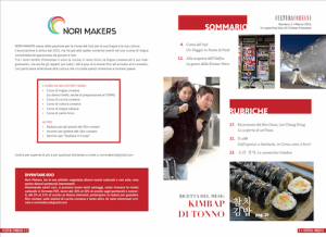 norimakers magazine 1 collaborazioni