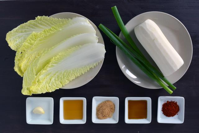 bossam rafano insalata