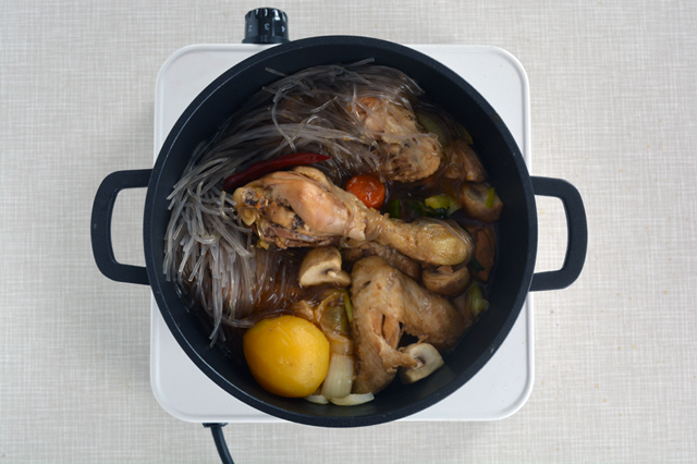 jjimdak aggiunta noodles
