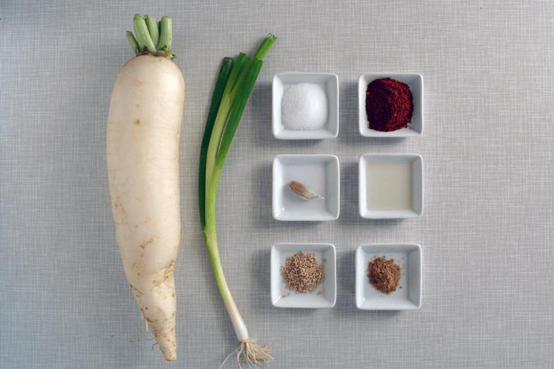 insalata di rafano piccante ingredienti