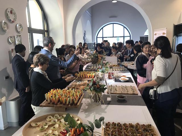 Global Taste of Korea buffet