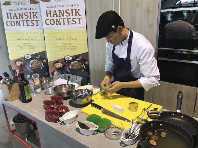 Global Taste of Korea chef