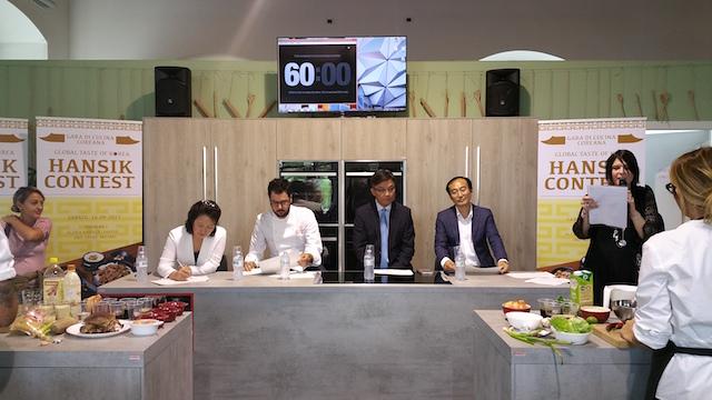 Global Taste of Korea giuria
