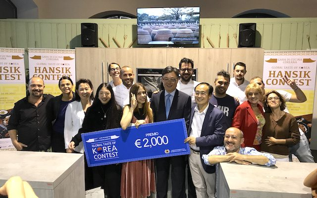 Global Taste of Korea vincitore
