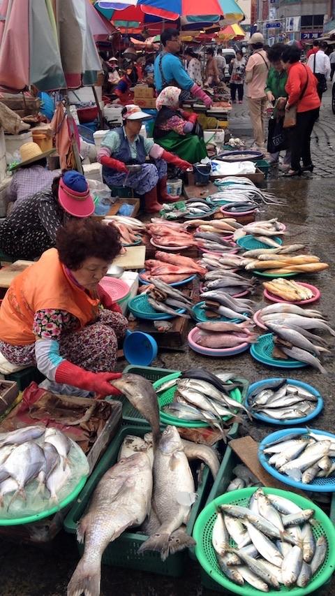 Mercato Jagalchi a Busan