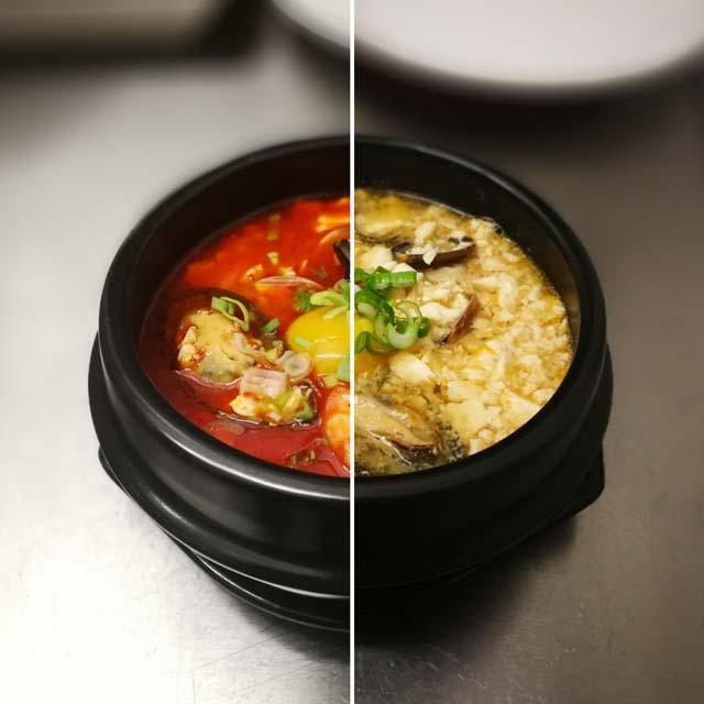 BIM ristorante coreano zuppa di kimchi