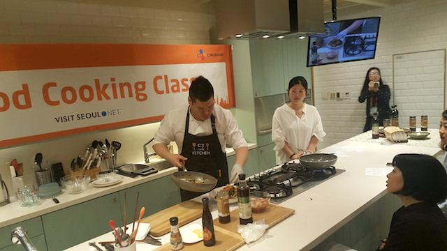 K-food lezione di cucina