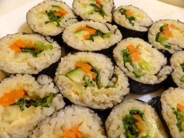 kimbap hummus