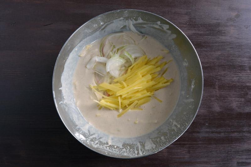 mix cipolla e patata