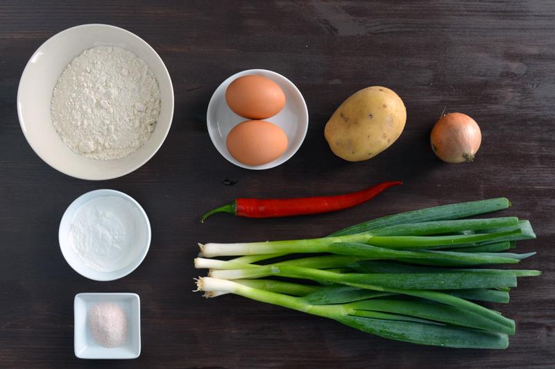 pancake coreano ingredienti