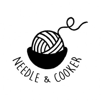 logo needle and cooker