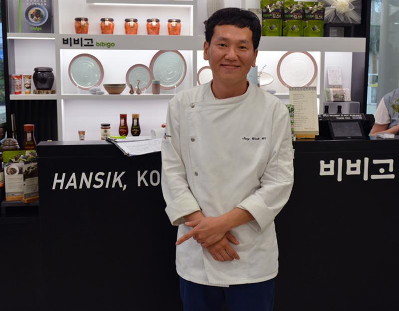 chef-Sang-padiglione Corea