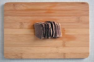 carne a fettine naengmyeon