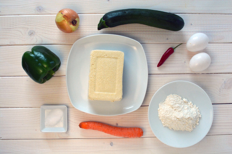 frittelle tofu ingredienti