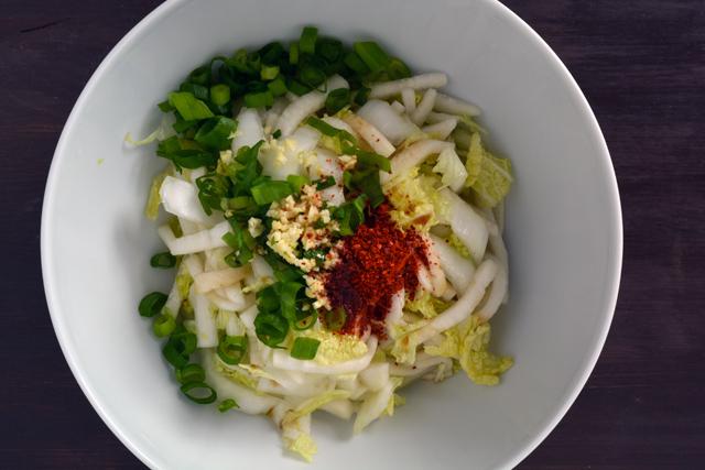 bossam rafano salad mescolare