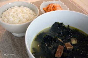 zuppa di alghe e manzo evidenza