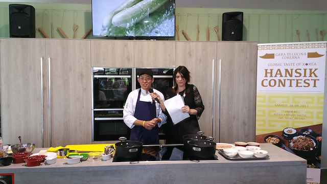 Global Taste of Korea chef presentazione