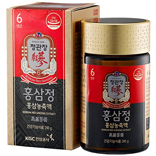 ginseng coreano rosso