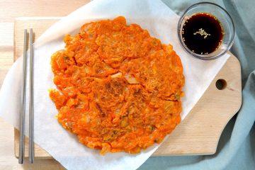 kimchi pancake jeon evidenza