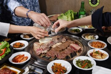 korean bbq samgyeopsal