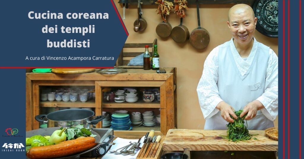 cucina coreana dei templi buddisti ikigai