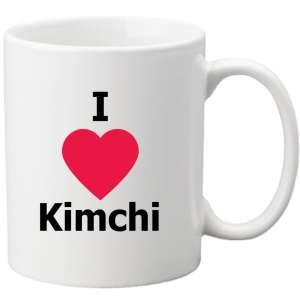 tazza i love kimchi