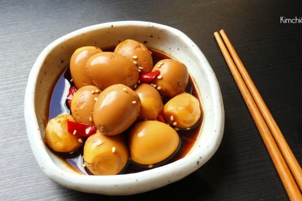 uova di quaglia salsa di soia 1